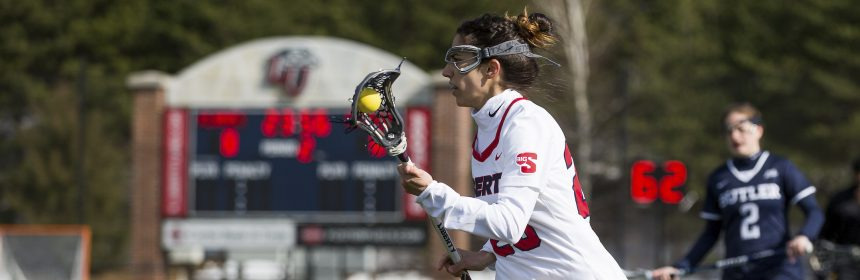 Senior Lacrosse Star Prepares for Big South Tournament - The Liberty
