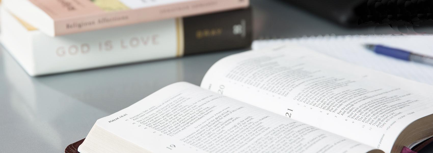 Christian Leadership & Church Ministries: Biblical Studies