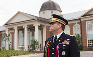 Paul Lupton, an operations officer in the U.S. Army currently stationed in the U.S. Embassy in Athens, Greece, and members of his family have taken full advantage of Liberty's online and residential courses wherever they've been based.