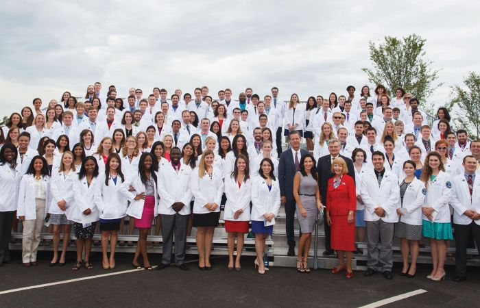 Liberty's first class of medical students.
