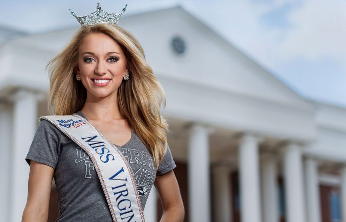 Recent Liberty University graduate Courtney Garrett was the first runner-up in the 2015 Miss America Competition, which aired on ABC on Sunday, Sept. 14.
