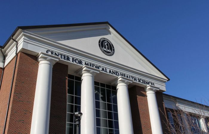 The Liberty University Center for Medical and Health Sciences.