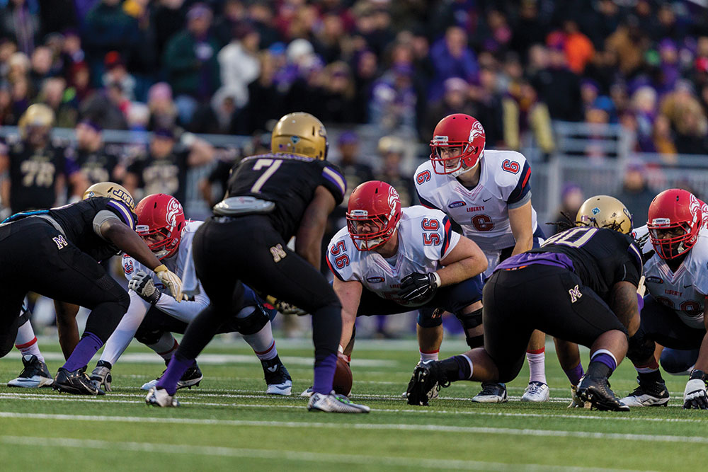 Liberty faces James Madison in the playoffs.