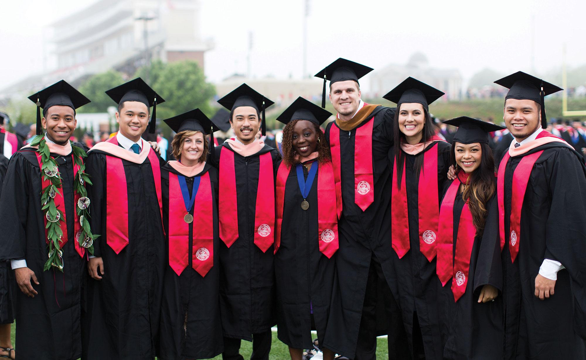 Members of Liberty University's Class of 2015.