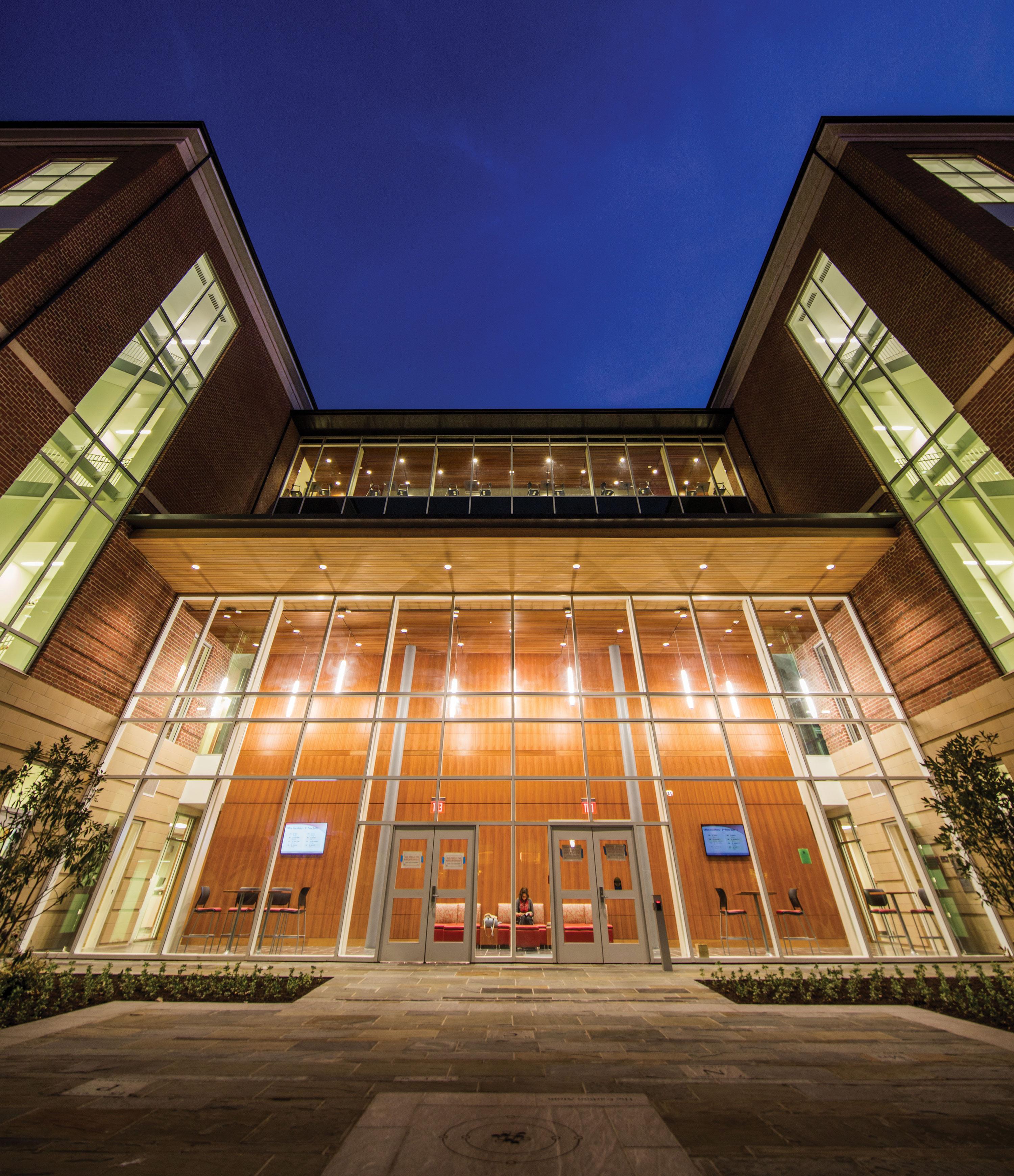 Liberty University's Science Hall.