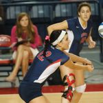 Lady Flames volleyball