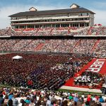 Liberty University's largest Commencement to date was held at Williams Stadium on May 12, 2012.