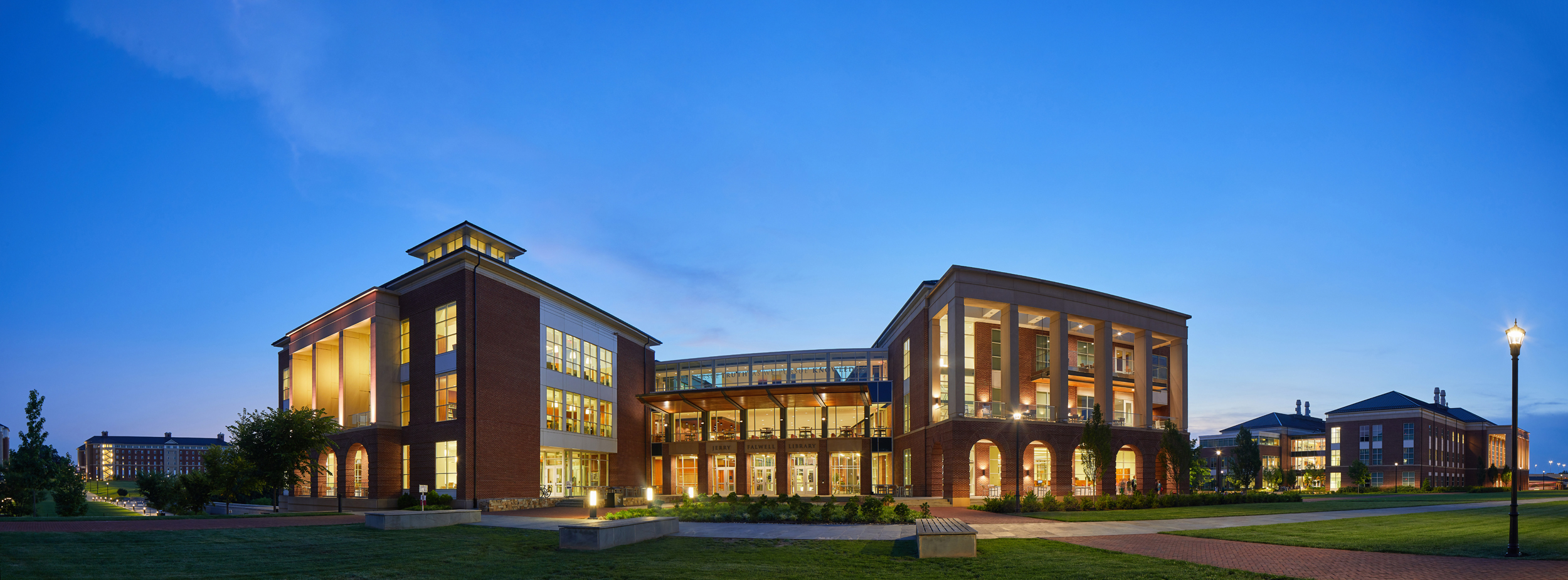 Photo of the Jerry Falwell Library