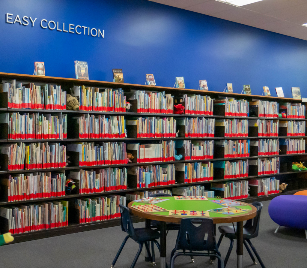 Photo of Curriculum Library