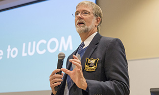 Scott A. Blickensderfer, DO, FACOS, president of the American College of Osteopathic Surgeons