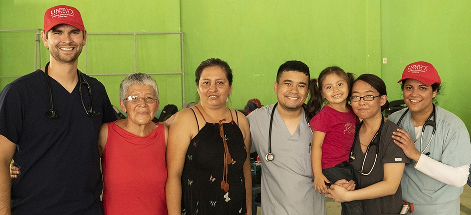 LUCOM medical outreach in Guatemala.