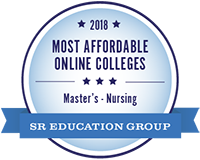 Most Affordable Online College Seal from SR Education Group