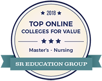Top Online College Value Seal from SR Education Group
