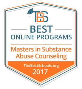 2017 Best Online Programs Master's in Substance Abuse Counseling