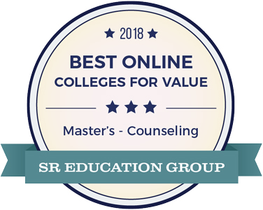 2018 Best Online Colleges for Value - Master's in Counseling
