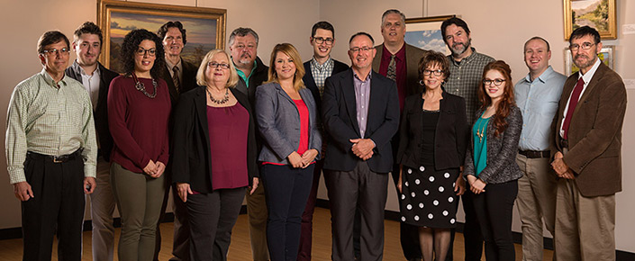 Studio & Digital Arts Faculty and Staff