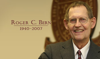 In Memory of Roger Bern