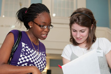 Peer to peer tutoring helps many students succeed.