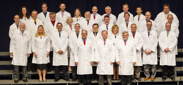 LUCOM Faculty, White Coat Ceremony 2016