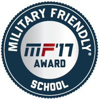Military Friendly School - MF'17 Award