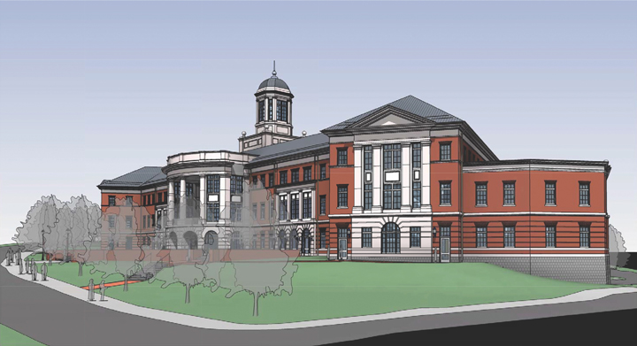 School of Business Artist Rendering
