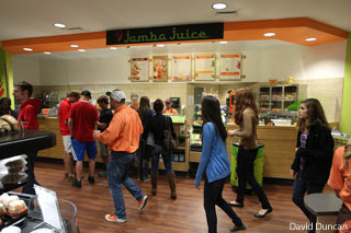 A Jamba Juice on Liberty University's campus.