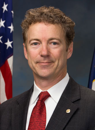 Sen. Rand Paul, joined by Virginia Attorney General and gubernatorial candidate Ken Cuccinelli, will deliver the keynote address at Liberty University Convocation on Monday, Oct. 28.