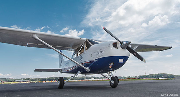 The 10,000th single-engine aircraft from Textron Aviation's Independence facility.
