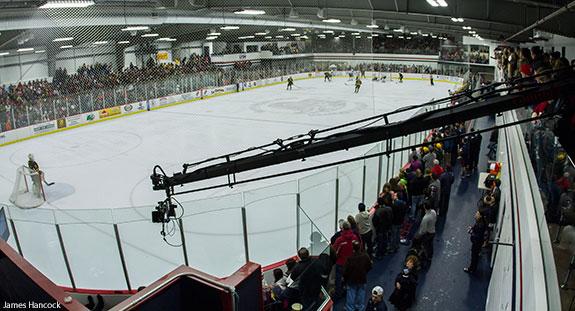 Liberty University's LaHaye Ice Center on Saturday, Jan. 25, 2014.