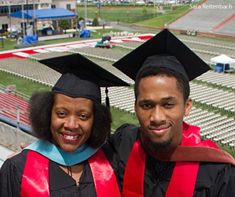 2014 Liberty University graduates Christine and Nathan Bowen