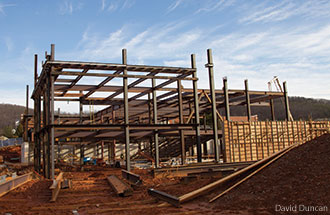 Construction begins on Liberty University's new Science Hall.