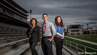 Liberty University sport management students.