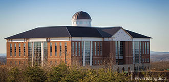 The nearly-complete Center for Medical and Health Sciences at Liberty University.