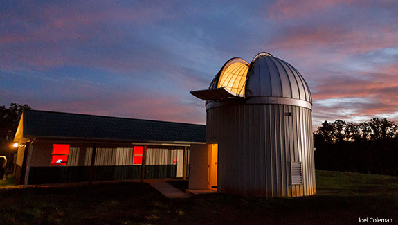 The Liberty University Astronomical Observatory.