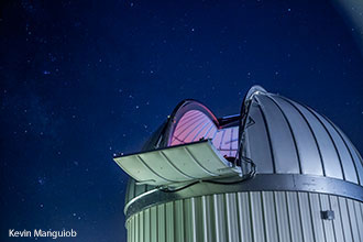 Liberty's observatory features stunning views of the night sky.