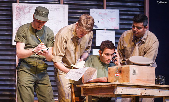 Theatre Arts students perform