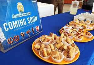 Auntie Anne's Pretzels will open this fall in the Jerry Falwell Library.