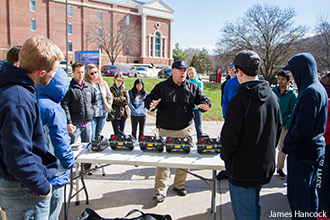 Liberty University students learned about bioterrorism on Saturday morning.
