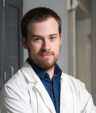 Liberty University biomedical sciences student Joe Gosnell.