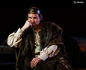 Neal Brasher as King Lear