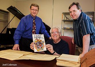 John Kinchen, Don Wyrtzen, Paul Rumrill