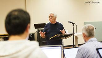 Don Wyrtzen lectures at Liberty University.