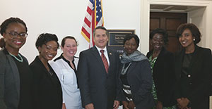 Students from Liberty University's Master of Public Health Program had the opportunity to meet Representative Jody Hice.