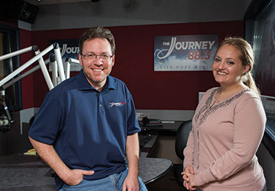 Kenny Robinson started with The Journey FM in August 2015, and Leigh Detzel joined the show in November 2015.