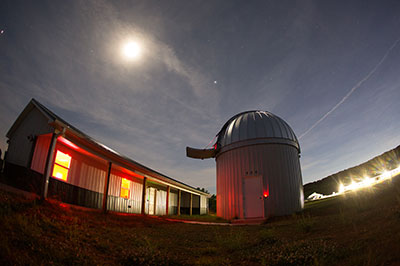 During the summer months, the Lynchburg community has the opportunity to see Mars,Jupiter, Saturn, and other views from the sky at the Liberty University Astronomical Observatory.