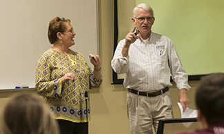 LUCOM-SAA hosts medical marriage seminar for student-doctors.