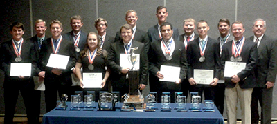 The Liberty University School of Aeronautics Flight Team won first place at the NIFA Region X Championship, as well as a number of individual honors.