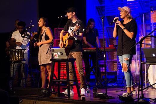 Vertical, Elevation Worship help Liberty Worship Collective