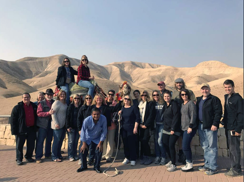 Faculty members spent eight days in the country of Israel before the start of the Spring 2017 semester.