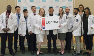 LUCOM student-doctors visit Washington, DC.